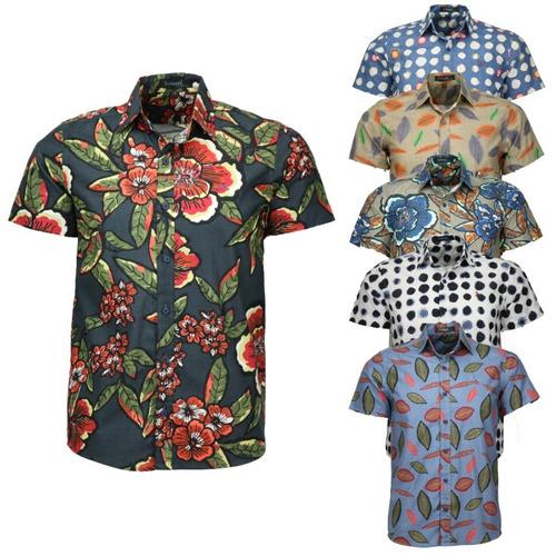 0e7cfb4853 Kit 2 Camisas Amil Toten Floral Verão Curta Lançamento 2019 à venda em  Espinosa Minas Gerais por apenas R$ 149,90 - CompraMais.net Brasil