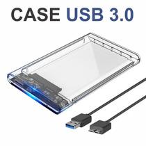 Adaptador Case P/ Hd Sata Notebook Slim Usb 3.0 Barato
