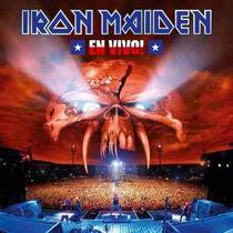 Iron Maiden - En Vivo - 2 Cds Originais Novos Lacrados Raro!