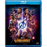 Vingadores - Guerra Infinita - Blu-ray