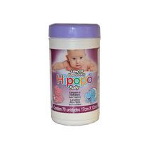 Lenço Umedecido Hipopó Baby - Pote - 70un