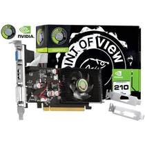 Placa De Video Geforce Nvidia G210 1gb Ddr2 64bits Vga-210-