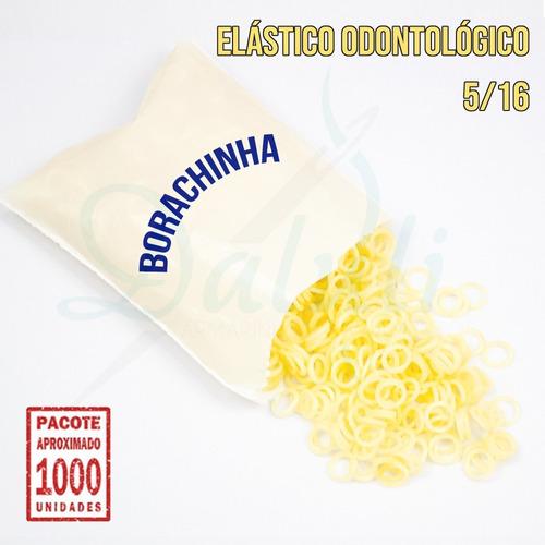 2000 Borrachinhas, Gominha, Elástico  Para Laços Pet