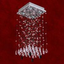 Lustre Cristal Plafon Iluminacao Parede Sala 2224-9-ls Mr