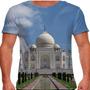 Camiseta Índia Taj Mahal Masculina