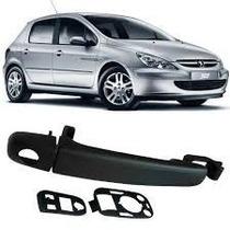 Maçaneta Externa Porta Peugeot 307 C/furo Diant Esquerdo