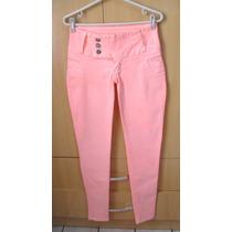 Linda Linda Calça Jeans Skinny Cor Pessego !!! Maravilhosa !