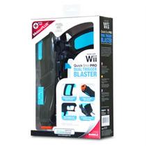 Quick Shot Pro Dual Trigger Blaster Wii - Original E Lacrado