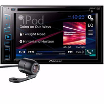 Central Multimidia Pioneer Avh-288bt 2din + Camera De Re