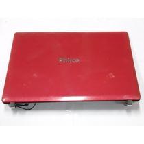 Carcaça Notebook Philco Phn 14153 14115 14303 14111 Vermelha