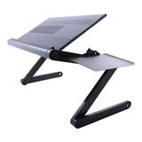 Suporte De Cama Desk Slim C/ Mousepad P/ Notebook | Preto