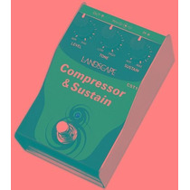 Ritmus : Landscape Cst1 Compressor & Sustain Pedal Guitarra