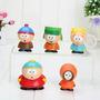 Kit 5 Bonecos South Park Cartman Stan Butters Comedia