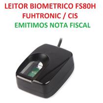 Leitor Biometrico Cis Fs80h Usb Detran Auto Escola - Com Nf