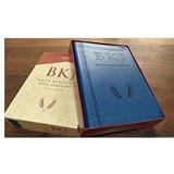 Bíblia Bkj King James 1611 - Com Estudo Holman Azul + Caixa