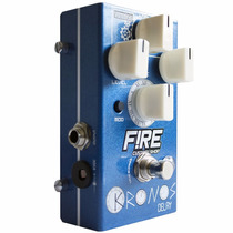 Pedal Fire Kronos Delay De Efeito Para Guitarra