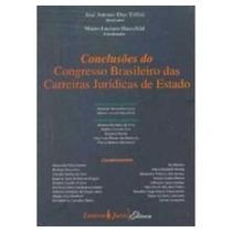 Conclusoes Do Congresso Brasileiro Das Carreiras Juridicas