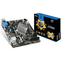 Placa Mae Msi Mini Itx J1900i + Cpu Intel Celeron Quad Core