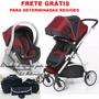 Carrinho Bebê Maly Dzieco+bebê Conforto+base Travel System