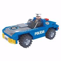 Click It - Policia Carro Policial Blocos De Montar
