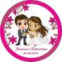 50 Etiquetas Personalizadas Para Casamento Noivado Batizado