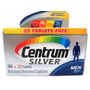 Multivitamínico Centrum Silver 100+20 Tabletes Men 50+