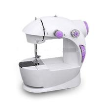 Mini Maquina De Costura Portatil C/ Luz + Pedal + Bobina