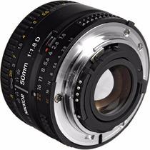 Lente Nikon 50mm F1.8 Auto-foco Nikkor F/1.8d + Frete Grátis