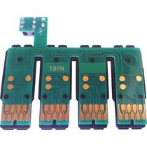 4 Peça Chip Para Bulk Epson Xp214 Xp411 Xp401 Xp204