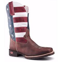 Bota Country Masculina Texana Rodeio Eua Capelli Boots