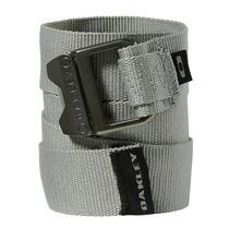 Cinto Masculino Oakley Square Web Belt Cinza
