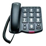 Telefone Fixo Intelbras Tokfacil Preto