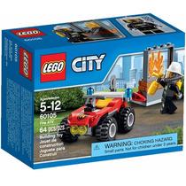 Lego City - Veiculo Off-road De Combate Ao Fogo 60105