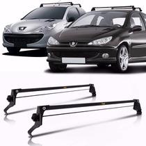 Rack De Teto Aço Peugeot 206 E 207 4 Portas