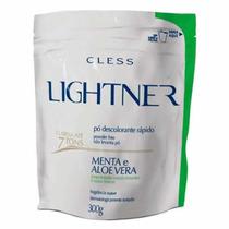Lightner Pó Descolorante Rápido Com Menta E Aloe Vera - 300g