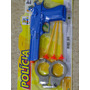 22cm Pistola Algema Atira Dardos Tamanho Real Shotgun Fuzil