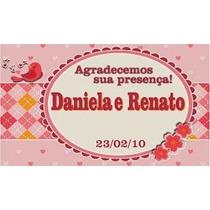 Tag S Personalizadas Casamento Lembrancinhas