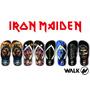 Chinelos Iron Maiden - Bruce - Steve Harris - Heavy Metal