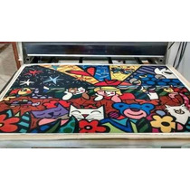3 Tecidos Romero Britto 105,00 (tecido Oxford 70x100)