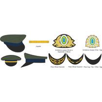 Eb3151 Quepe Vo Completo Para Oficial General - Tam.60