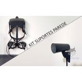 Suportes De Parede Para Oculus Rift + 2 Sensores + Controles