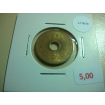 Moeda Japão 5 Yen - Lt0573