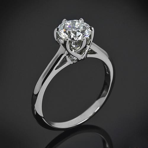 Anel Solitário Diamante 40 Pontos An20-0060-40 8b68b78444