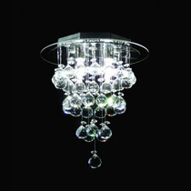 Plafon Lustre Cristal Cristais Iluminacao Led Rdac-002 Dna