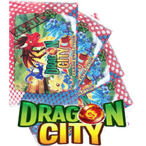 200 Cards Dragon City Evolution Trading Game Jogo Bafo
