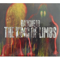 Radiohead - The King Of Limbs Cd Importado Novo Raro Lacrado