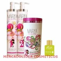 Kit Escova Progressiva Maria Escandalosa + Botox Escandaloso