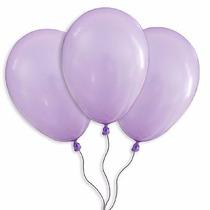 Balões São Roque N° 7 Lilas Pacote Com 50 Bexigas