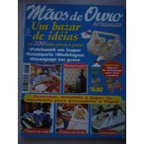 Revista Mãos De Ouro Artesanato 200 Fotos Passo A Passo