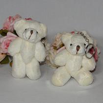 10 Lembrancinhas Chaveiro Ursinho - Urso De Pelúcia - 10cm